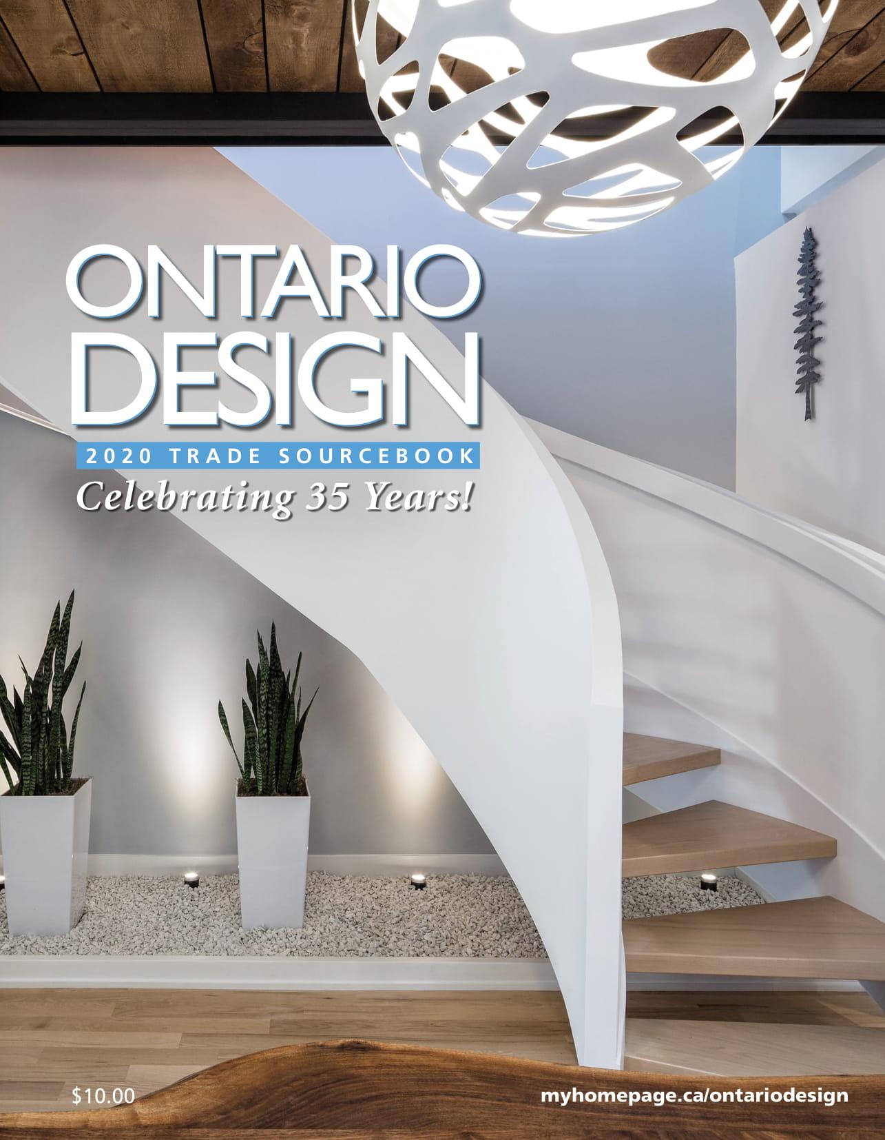 Ontario Design Magazine – January 2020