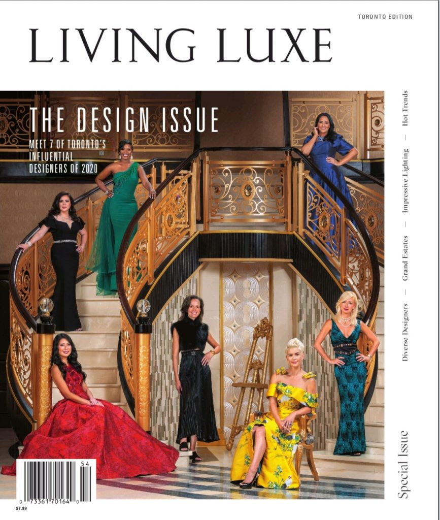 Living Luxe Magazine – Fall Issue 2020